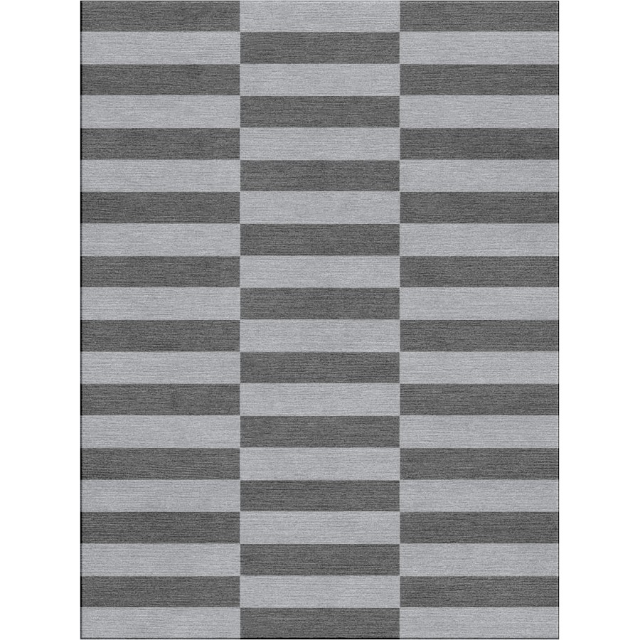 White And Black Striped Rug Rugs Ideas